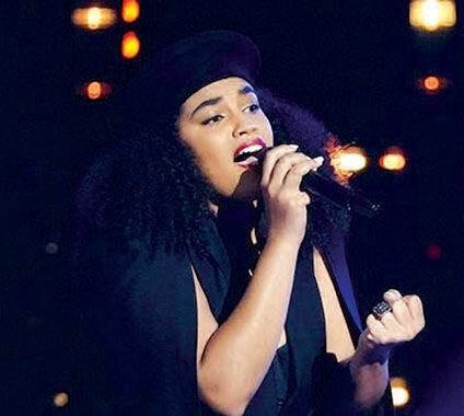 Audri Bartholomew singing performance