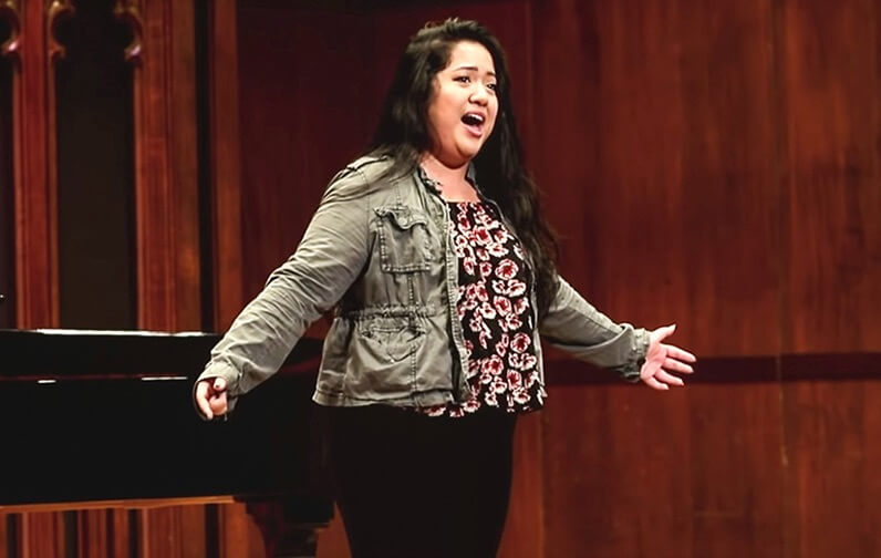 Millikin University student performs at National Association of Teachers of Singing Central Region Competition