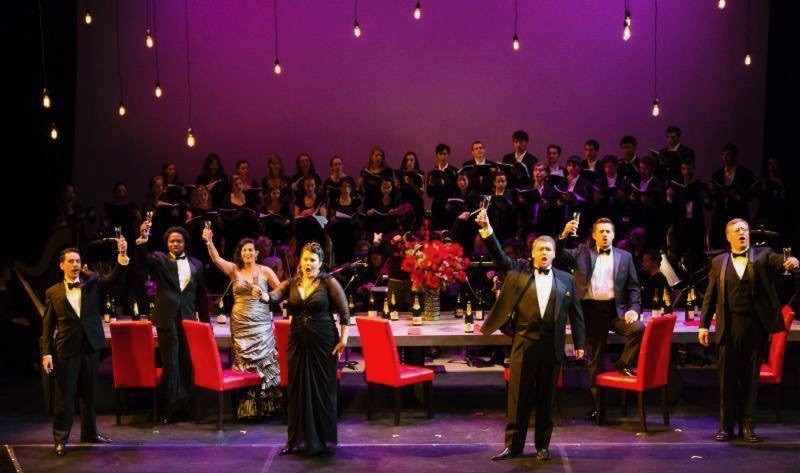 Performers in the Opera Company Middlebury