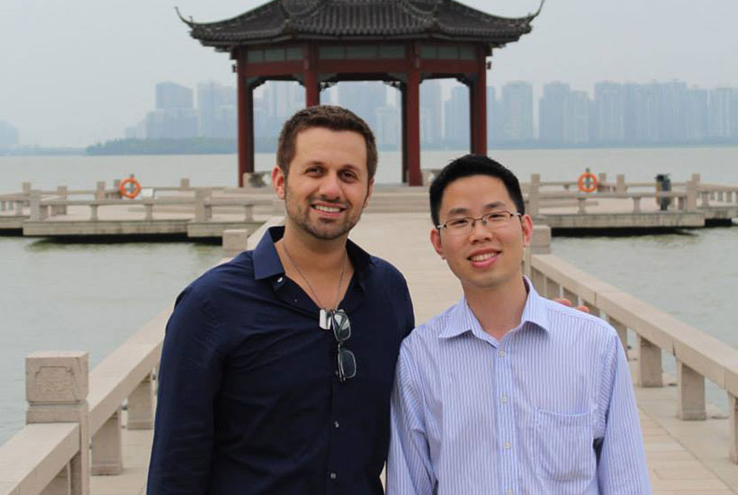 Justin Moniz in Suzhou China