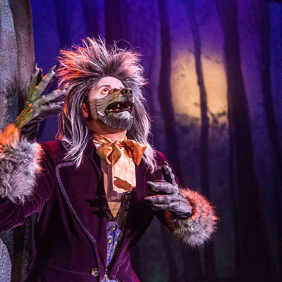 Justin John Moniz plays The Wolf in Into The Woods